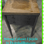 Sewing Cabinet Upcycle