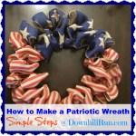 Easy Peasy Patriotic Wreath