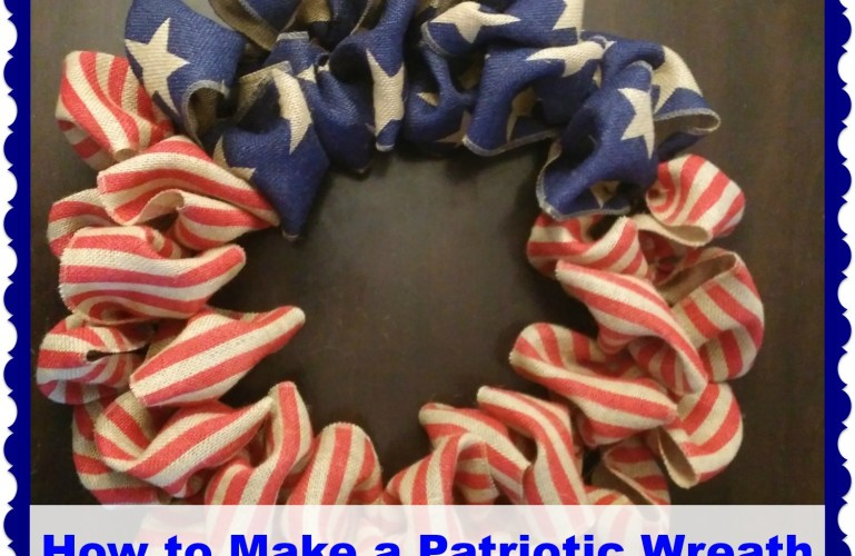 Easy Peasy Patriotic Wreath