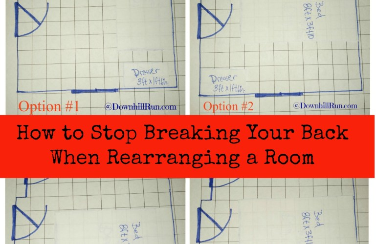 How to Stop Breaking Your Back When Rearranging a Room