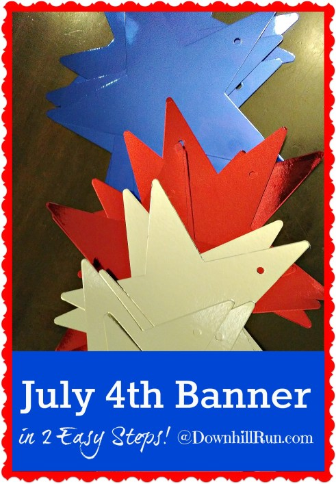 July 4 banner in 2 easy steps 3
