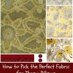 How to Pick the Perfect Fabric for Throw Pillows