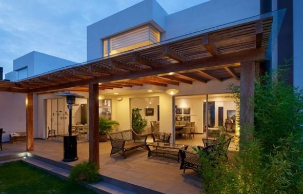 Add elegance to any backyard with a pergola.