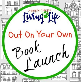 Simple Steps For Living Life: Out On Your Own book launch