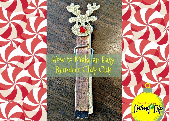 How to Make an Easy Reindeer Chip Clip