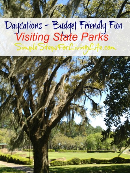 Finding budget friendly daycations by visiting state parks.