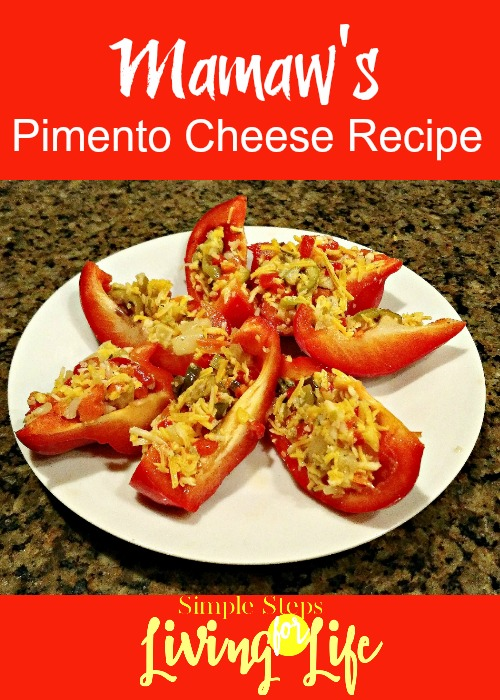 Easy and delicious pimento cheese recipe.