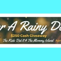 $250 Giveaway – for a rainy day!
