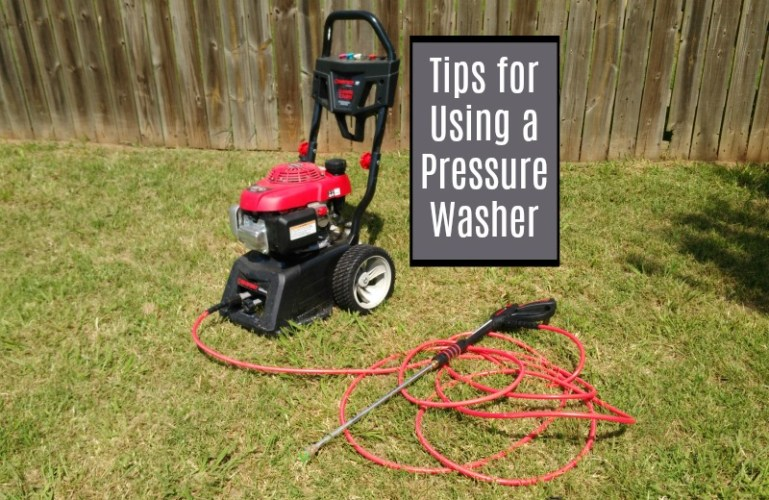 8 Tips for Using a Pressure Washer