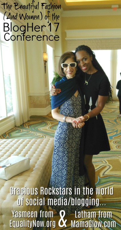 The beautiful fashion of the BlogHer17 Conference