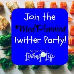 Join the #MealPlanning Twitter Party!