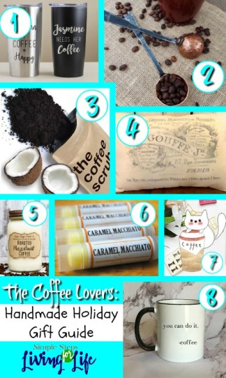 Looking for the perfect Coffee Lovers handmade gift guide? Check out this post!