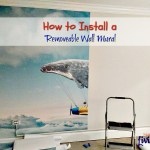 How to Install a Removable Wall Mural