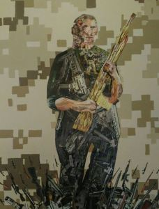 soldier collage art - This One Is Mine