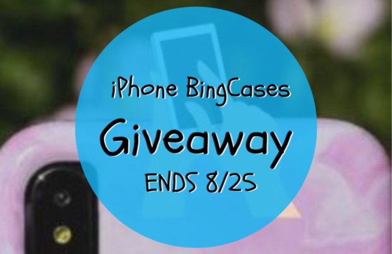 iPhone BingCases Giveaway ENDS 8/25