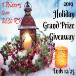 2019 Holiday Grand Prize Giveaway ends 12/25