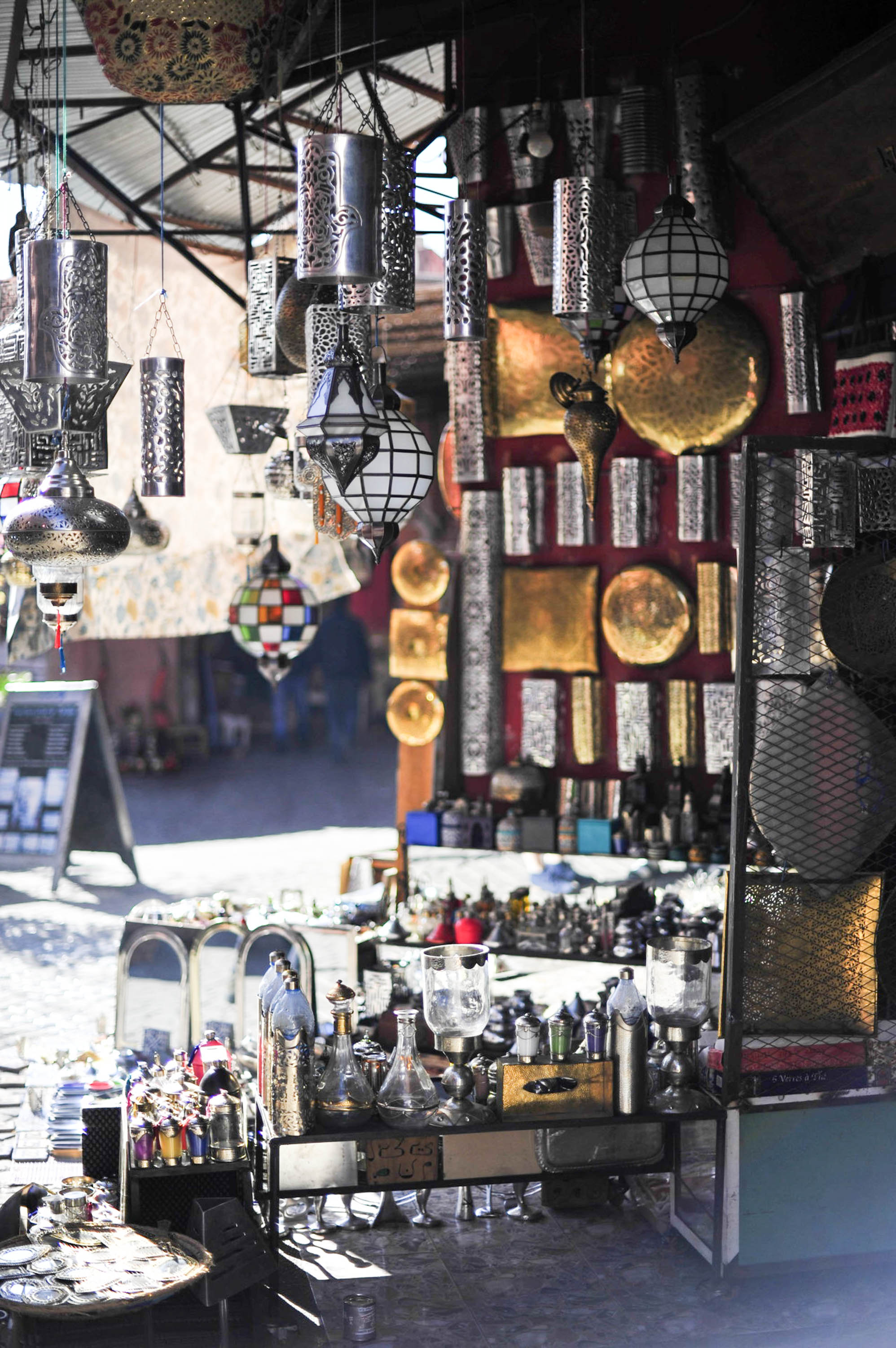 Lanterns in the souks   Marrakech: a quick guide