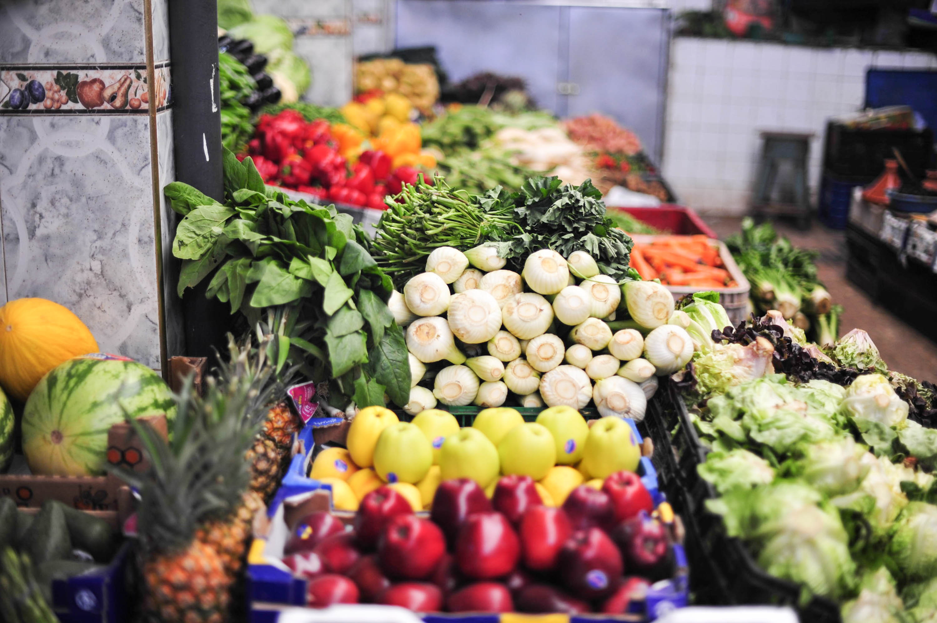 Produce at the market   Marrakech: a quick guide