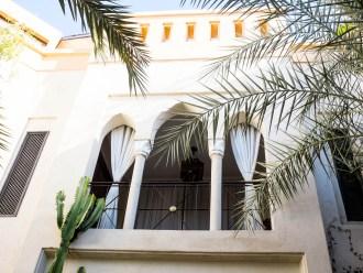 Marrakech Morocco - Palais Khum garden