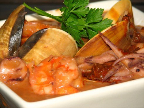 Seafood Potjie