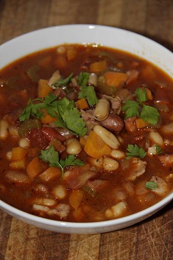 Spicy Chorizo & Bean Soup