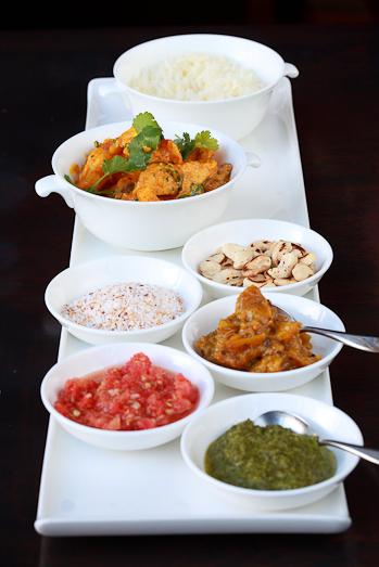 Chicken & Prawn curry