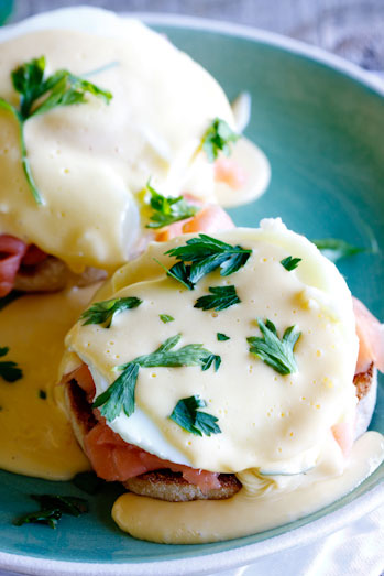 Eggs Benedict with Smoked Salmon - Simply Delicious