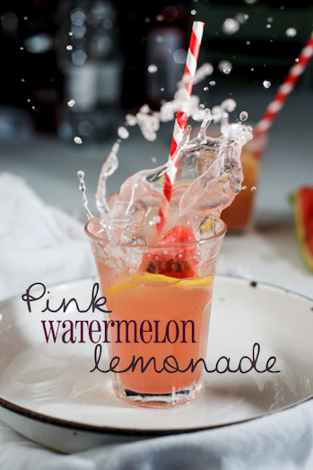 Pink Watermelon Lemonade