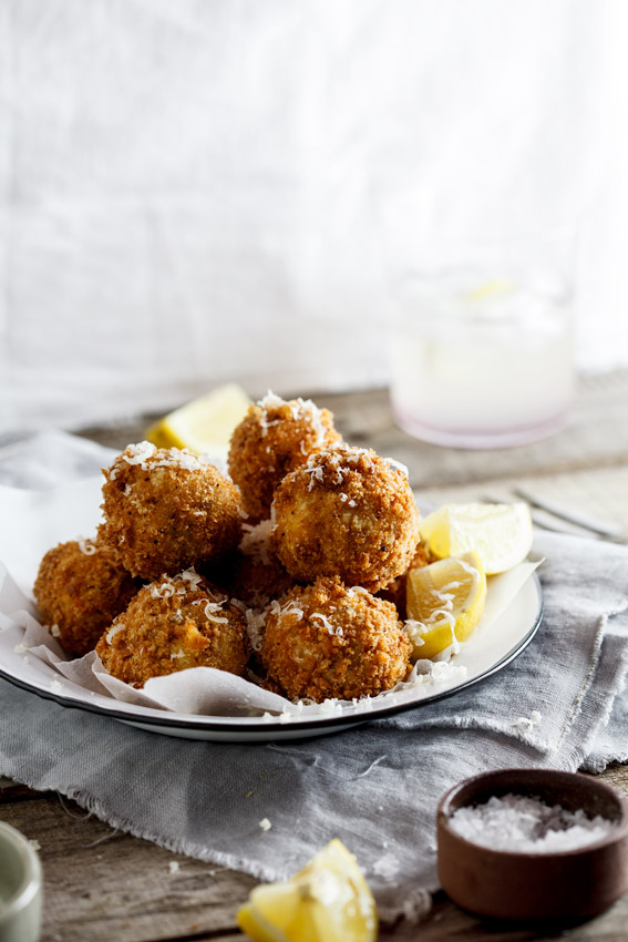Bacon & Cheese croquettes