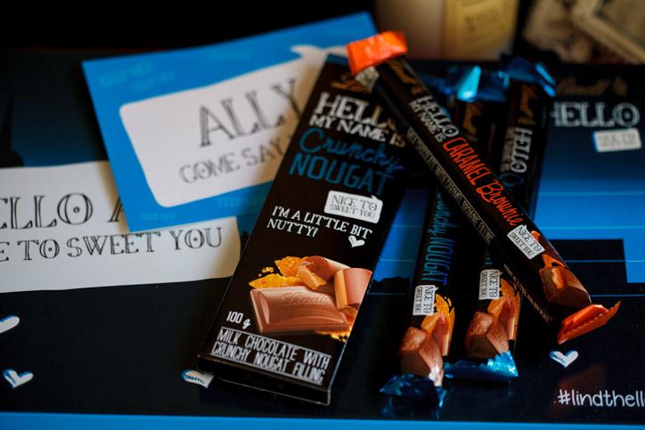 Lindt Hello chocolates