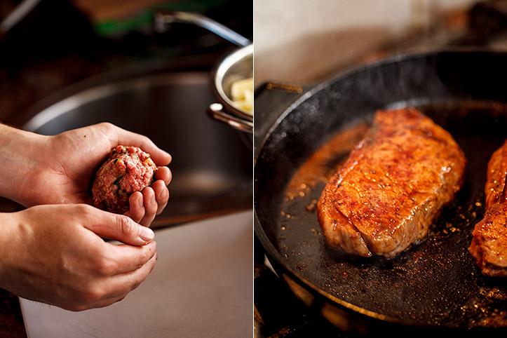 Double Steak Burger