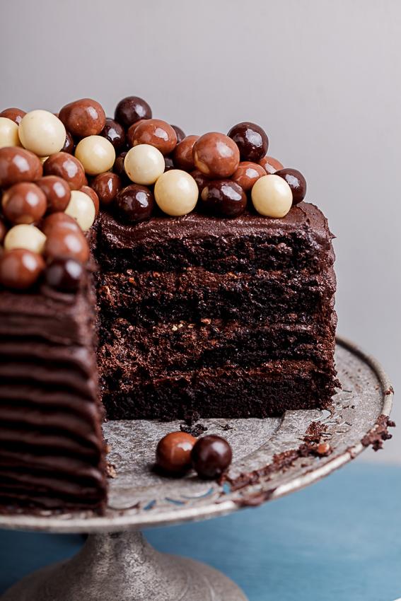 Chocolate coffee cake