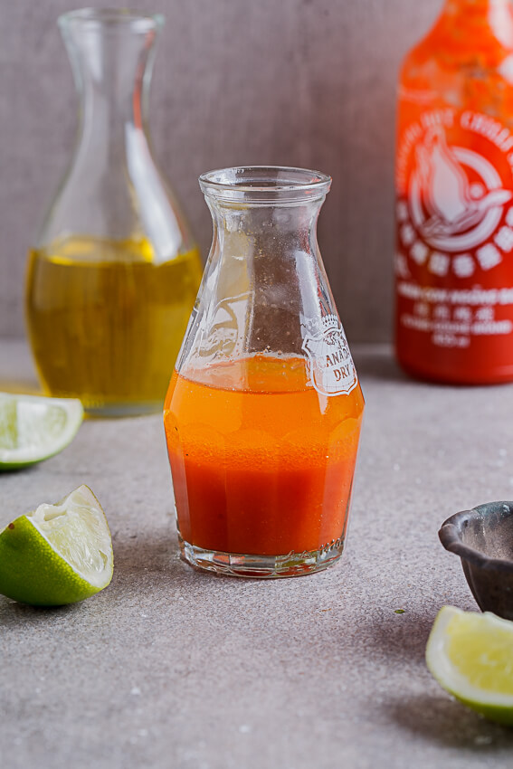 Sriracha lime dressing