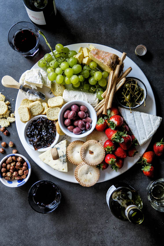 The ultimate Holiday cheese board