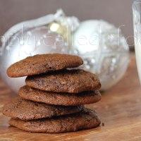 Vegan chewy molasses cookies