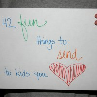 42 fun things to send through the mail to kids you love