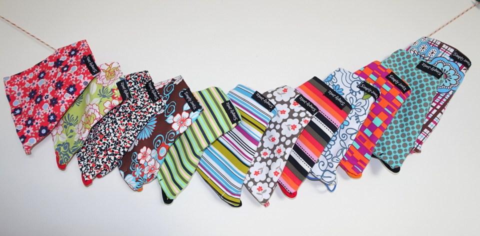 line of gloves