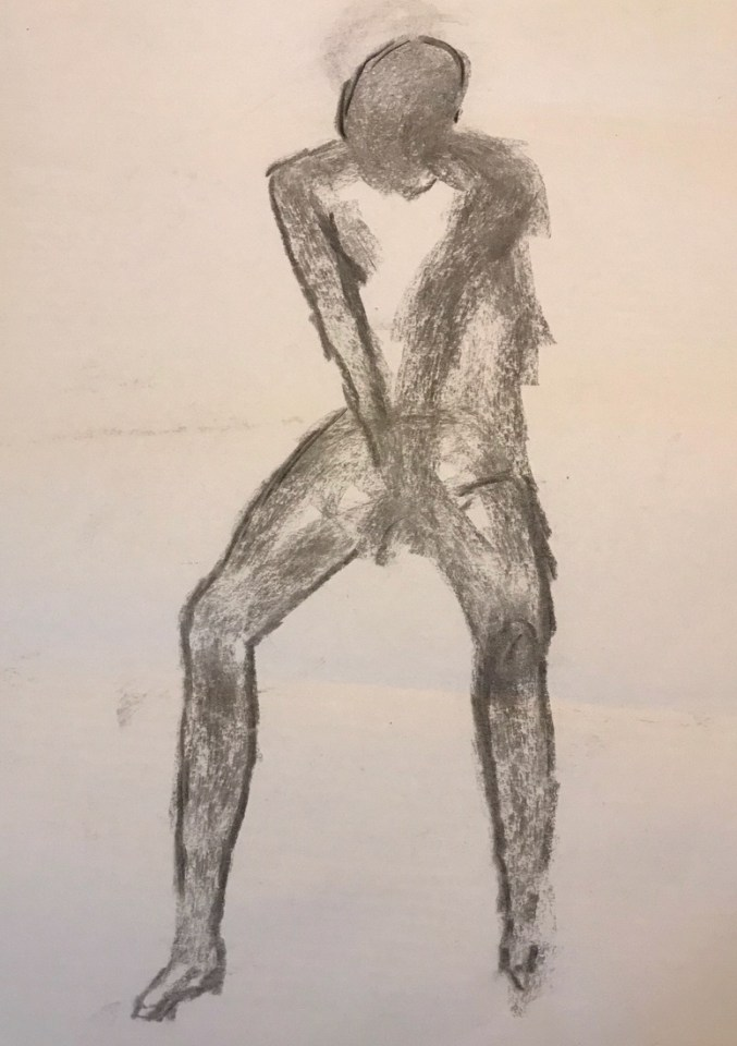 life drawing male 8027