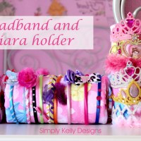 No Sew Headband and Tiara Holders