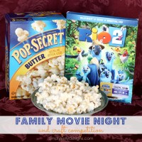 Family Movie Night and Craft Competition