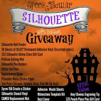 Spooktacular Silhouette Basket Giveaway