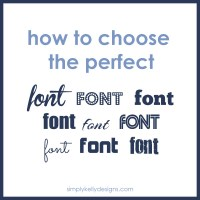 How To Choose The Perfect Font