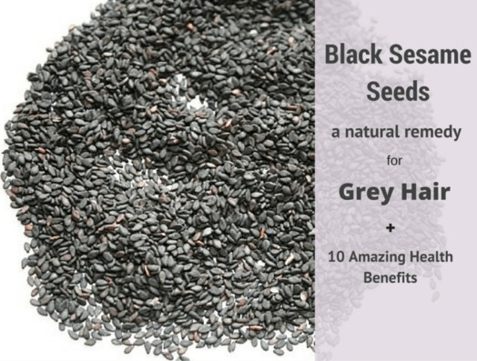 Black Sesame seeds To Get Rid Of White Hairs