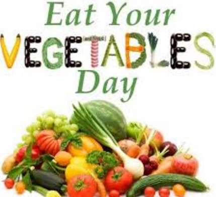 vegetable day.