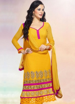 pics for gt collar neck designs for cotton churidars