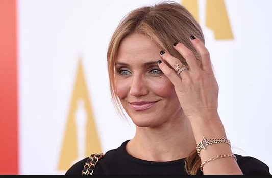 interaction session of cameron diaz with out make up