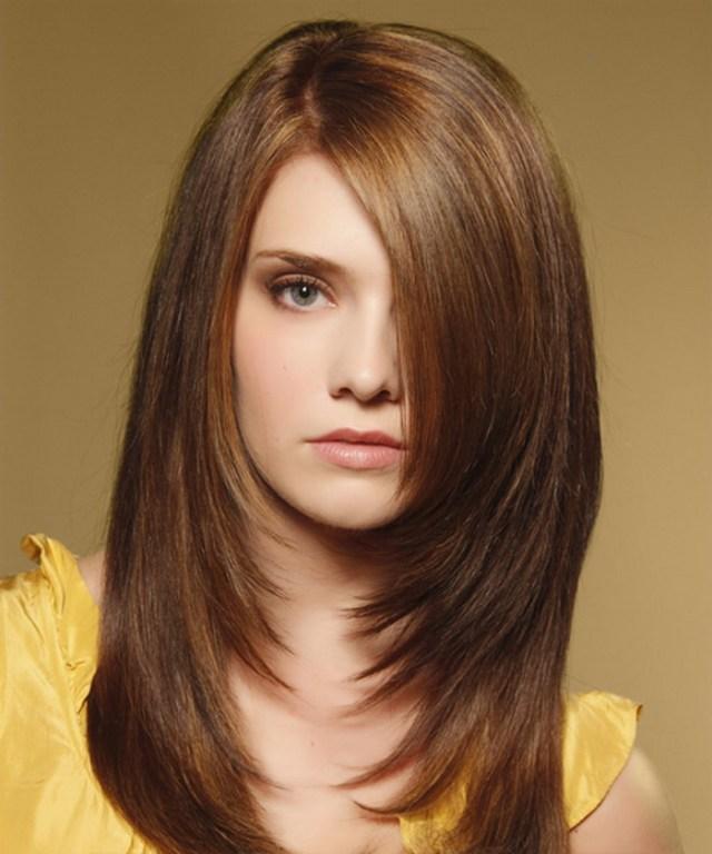 sleek and straight hair cuts