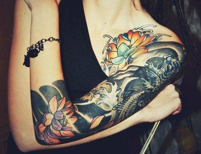 japanese female tattoo