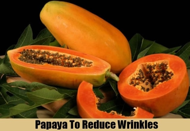 Papaya Juice Reduces Fine Lines & Wrinkles