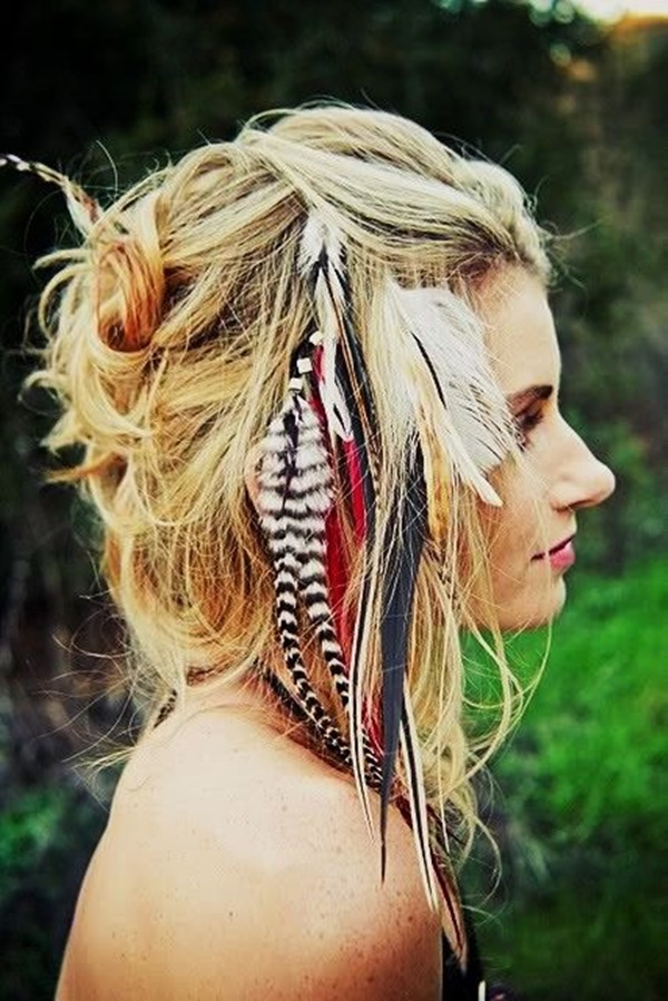 wonderful hippie hairstyle
